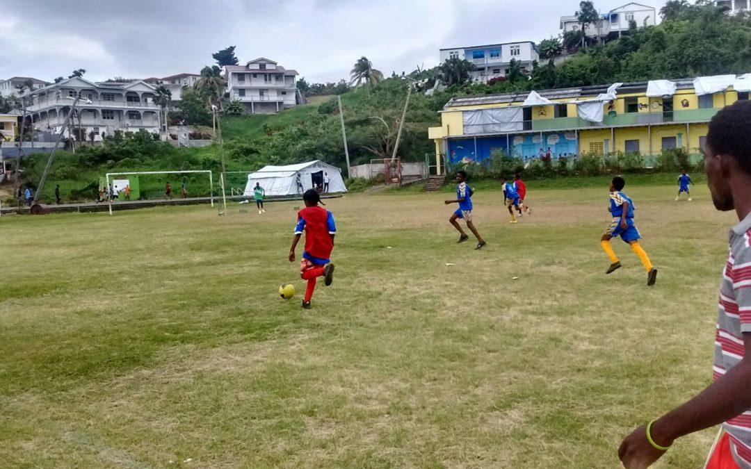 Erste Sport Aid Dominica – Schulsportprogramme laufen!