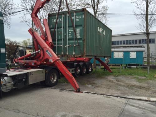 Standplatz gefunden für Container 2019!