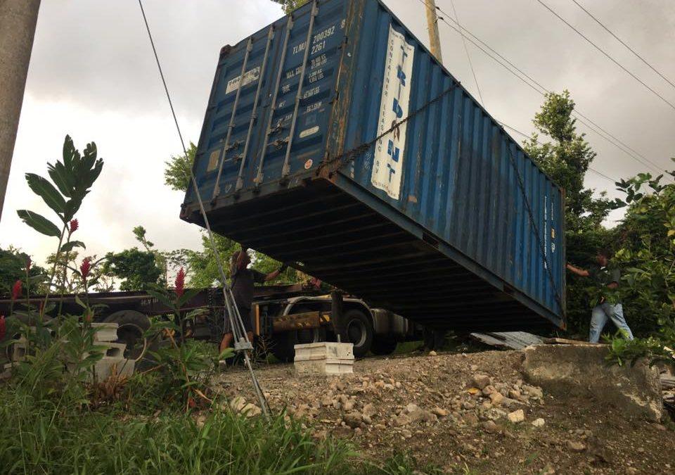 Der 18.Container wurde in Empfang genommen!